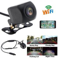 WIFI HD Car Reverse Camera Wireless Waterproof Car Rear View Camera with Video Recording Function for IOS / Android Phone