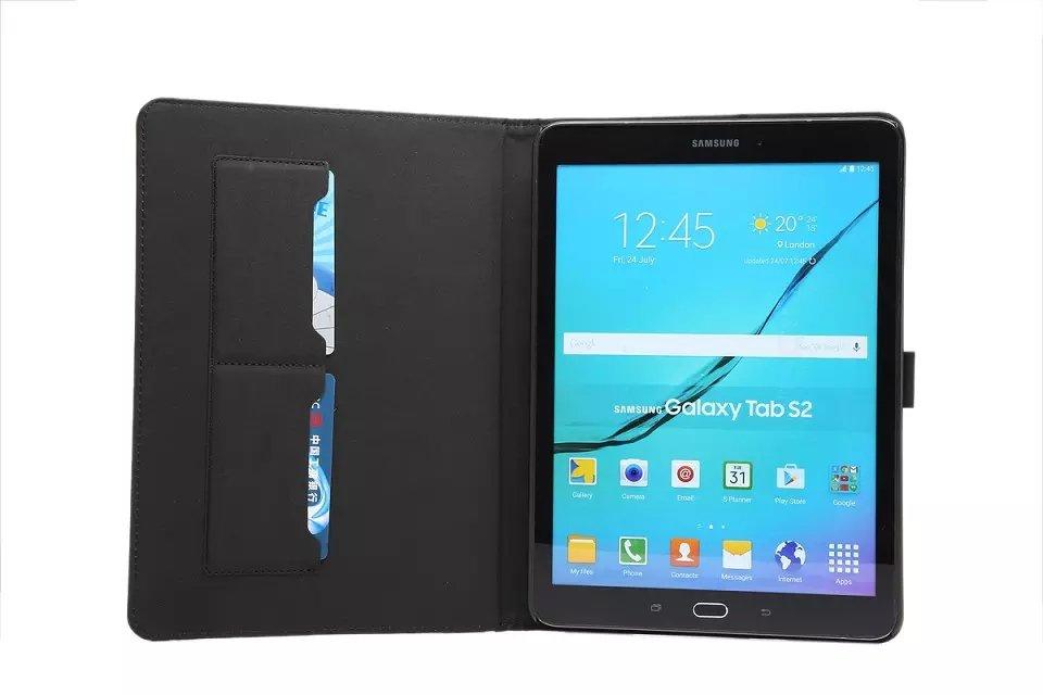 Samsung Galaxy Tab S2 үшін PU былғары корпусы 9,7 - Планшеттік керек-жарақтар - фото 3