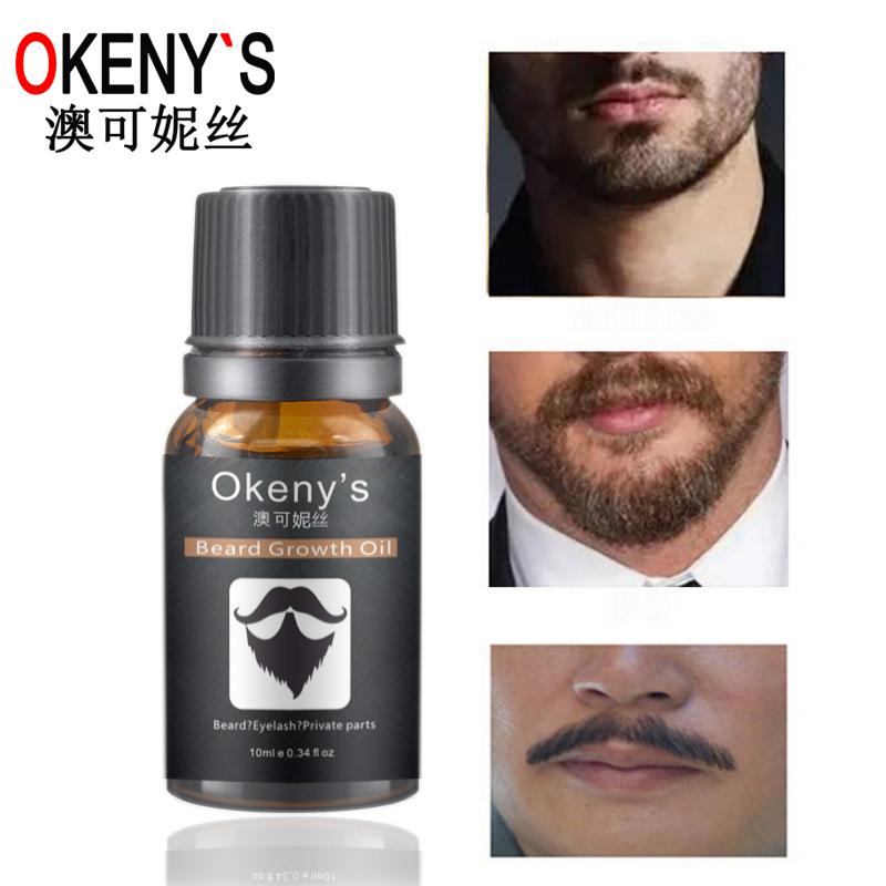 3pcs Beard Oil Hair Growth Thickener Beard Growth Serum For Hair
