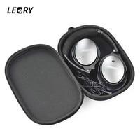 LEORY Protective EVA Headphone Case Portable Headphone Bag For Bose QC15 QC25 QC35 Convenient Storage Box
