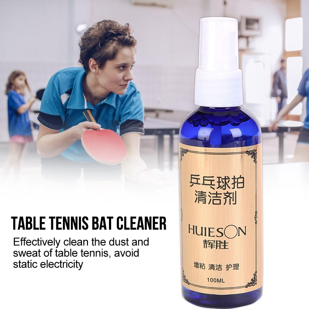 New 2019 100ml Table Tennis Racket Detergent Table Tennis Rubber Cleaner For Cleaning Maintenance
