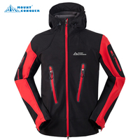 Mammoth New Brand Mountain Hiking Jackets Men Waterproof Windstopper Winter Outdoor Male Softshell for Hunting Ski Camping