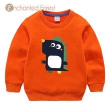 Children's sweatshirt Spring children's cartoon cotton long-sleeved sweatshirt baby girl clothes sweatshirt for boy Unisex