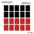 Vamson 20 Pcs Superfície Curva Base de Montagem com 3 M VHB Adesivo Adesivos para sony gopro hero 5 4 3 2 sj4000 acessórios eken VP106F