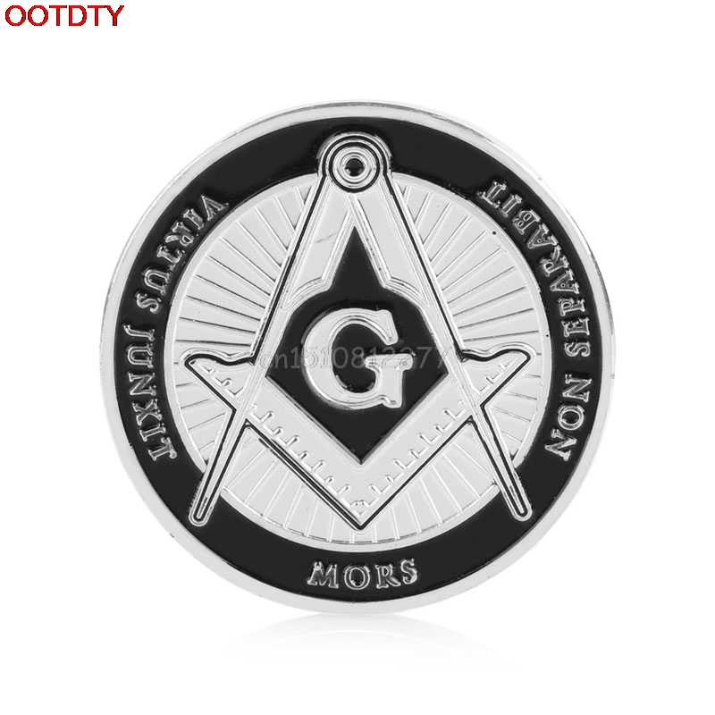Coins Gift 2017 Silver Plated Zodiac Masonic Freemasonry Commemorative Coin Collection Gifts #H0VH#