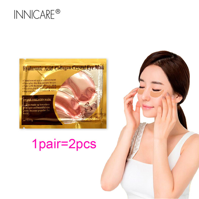 20Pcs=10Pairs Beauty 24K Gold Collagen Eye Mask Patches For Eye Dark Circle Anti-Aging Acne Korean Cosmetics Skin Care 2