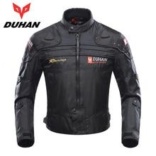 DUHAN Motorcycle Jackets Body Armor Protective Moto Jacket Motocross Off-Road Racing Motorbike Windproof Jaqueta Clothing