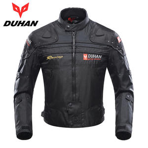 DUHAN Motorcycle Jacket Winter Body Armor Protective Moto Jacket Keep Warm Racing Jacket Motorbike Windproof Jaqueta Clothing
