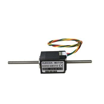 Nema8 DC3.9V 1.8 degree 20MM OK20STH30-0604B-GT100 through shaft miniature linear screw stepping motor Piston motion device