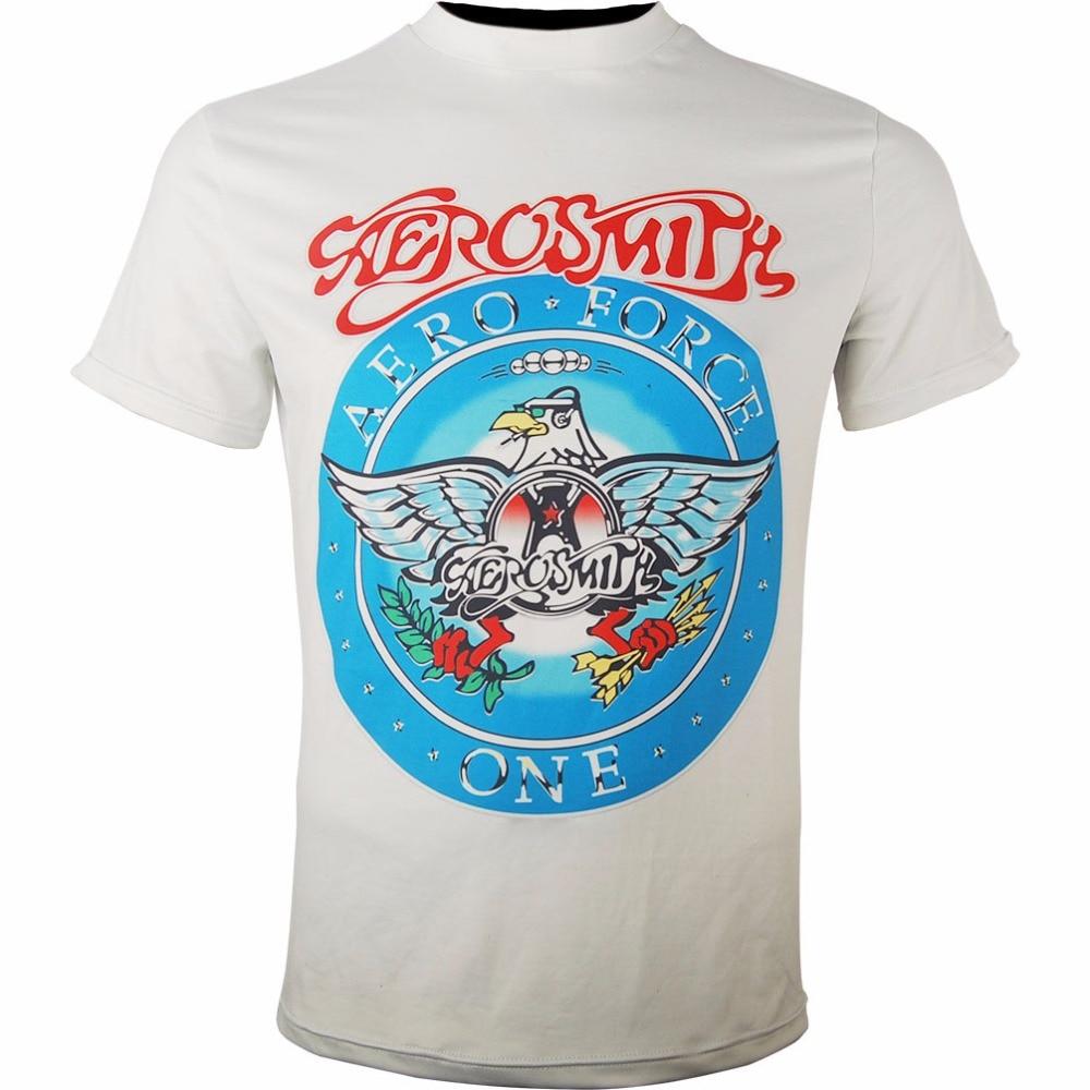 Music Rock Band Aerosmith Aero Force one T-Shirt Tee halloween costume x'mas gift