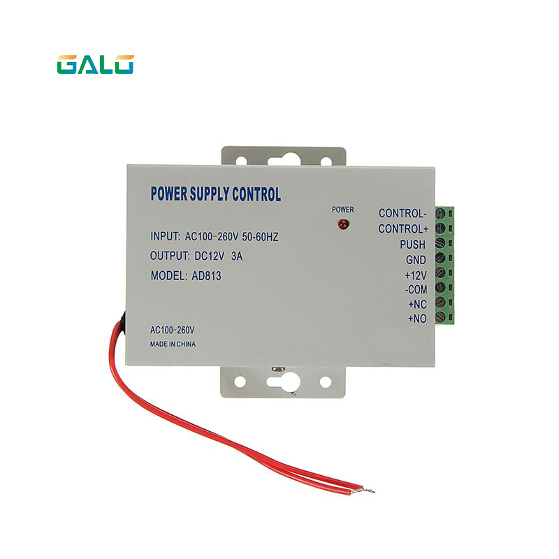 110 To 240V 50~60 Hz Input 12V3A Output Access Control Transformer Power Supply Switch Power Supply For Access Control System