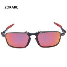 ZOKARE Защита Велоспорт стекло поляризационные Защита от солнца стекло es сплав рамки Googles очки с логотипом Óculos de sol