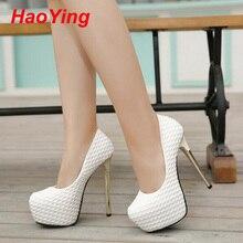 Nude Pumps Schuhe für Frauen High Heels Schuhe Plattform Heels Sapatos Femininos Weiß Pumps Hochzeit Schuhe Pumps schwarz D377