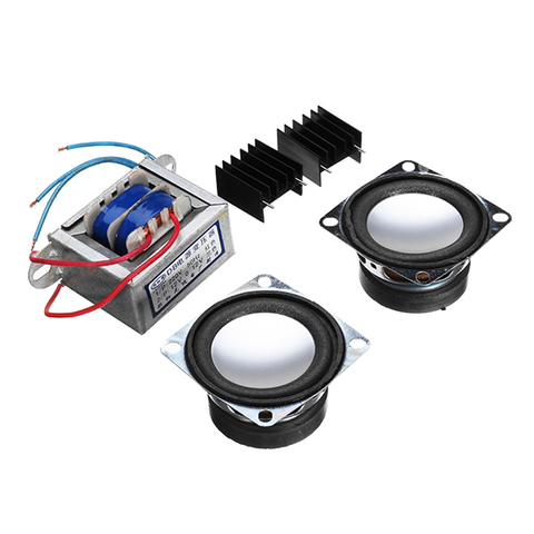 Small Amplifier Two Channel Speaker Audio Kit TDA2030 Mini Electronic DIY Production Parts Assembly Module Islamabad