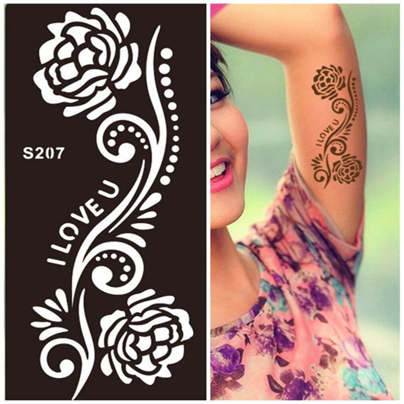 Online buy wholesale temporary tattoo airbrush stencils for Temporary tattoo airbrush paint