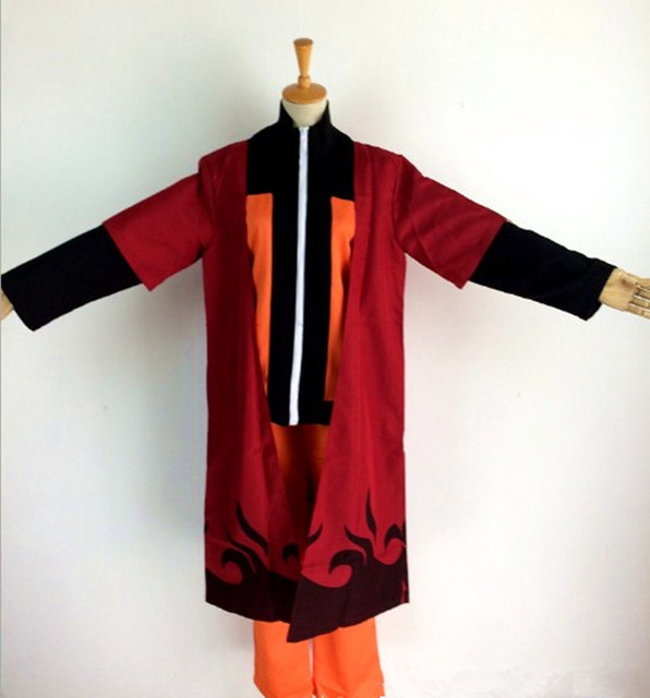 Naruto Cosplay Costume second generation