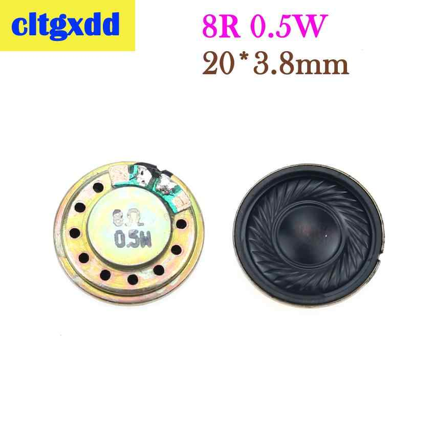 Cltgxdd 8 ohm 0.5 واط مكبر صوت 10/15/20/23/26 // 28/32/36/40/50 مللي متر قطر 8R 0.5 واط مكبر صوت صغير الجرس