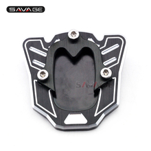 Stand Extension Plate For HONDA CBR 500R CBR650F CB 500F CB500X 650F Motorcycle Accessories CNC Side Kickstand Protector