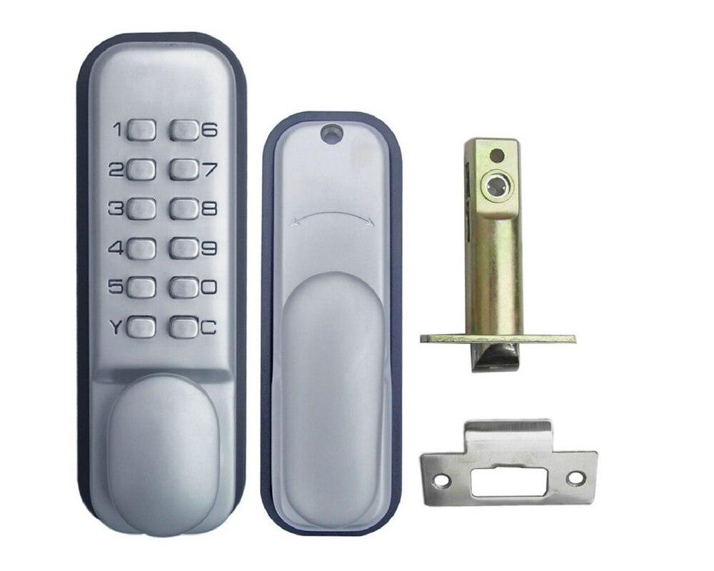ФОТО mechanical door locks Keyless Digital Machinery Code Keypad Password Entry Door lock The 2th generation OS207