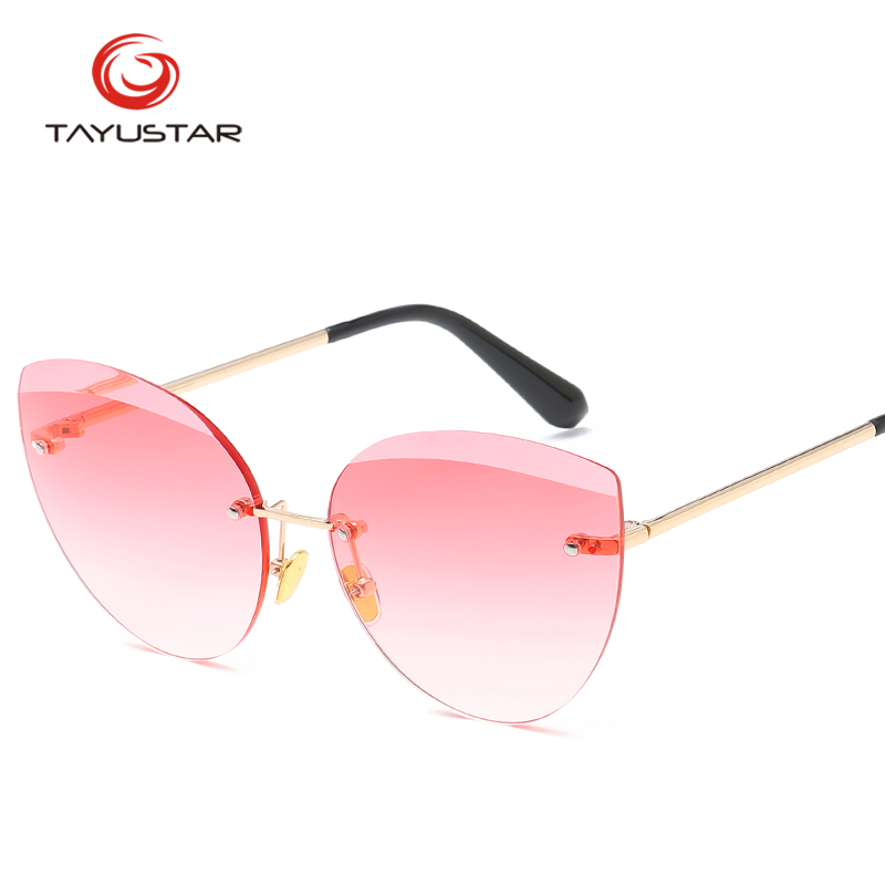 TIIYUSTAR Sunglasses Women 2019 Cat Style Women Sunglasses For Woman Brand Designer Retro Stylish Coating Lens Men Sunglasses