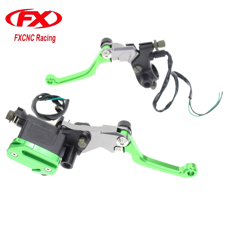 Motorcycle Hydraulic Master Cylinder Brake Cable Clutch Levers For KTM 450EXC 450R 450RALLY REPLICA 450SMR 450SX 450SX-F 450SX-R mofe 0 7 tandem master handbrake cylinder hydraulic drift rally hand brake for racing car