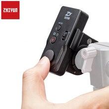 Zhiyun ZW-B02 Беспроводной флэш-пульт дистанционного управления для Zhiyun кран-M гладкий-II гладкой 3 гладкой-Q rider-M Gimbal стабилизатор