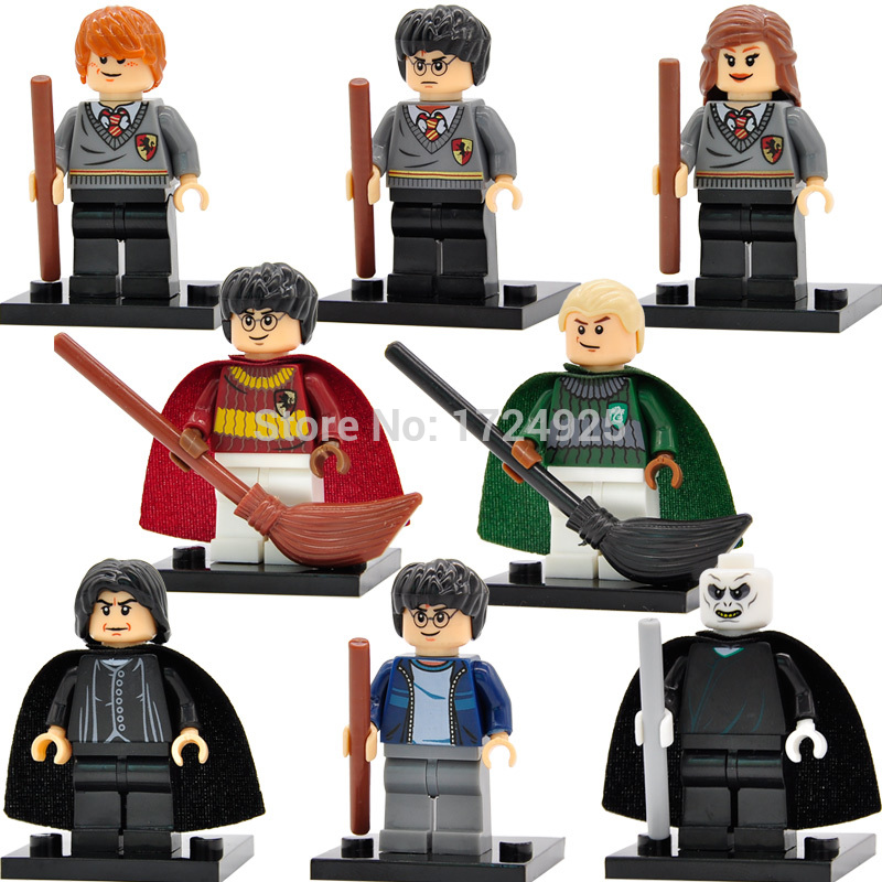 Harry-Potter-Figure-Hermione-Ginny-Ron-Weasley-Lord-Voldemort-Draco-Malfoy-Luna-Snape-Building-Blocks-toys-for-children-2