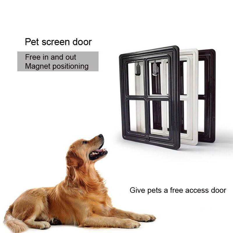 Namsan Magnetic Dog Screen Door Large Inner Size 12 X 14 Auto Lock