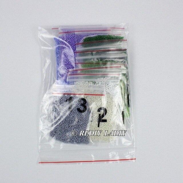 30.5×3 6cm Précis imprimé cristal perles kit de broderie fleurs perlage artisanat couture bricolage perles point de croix 6