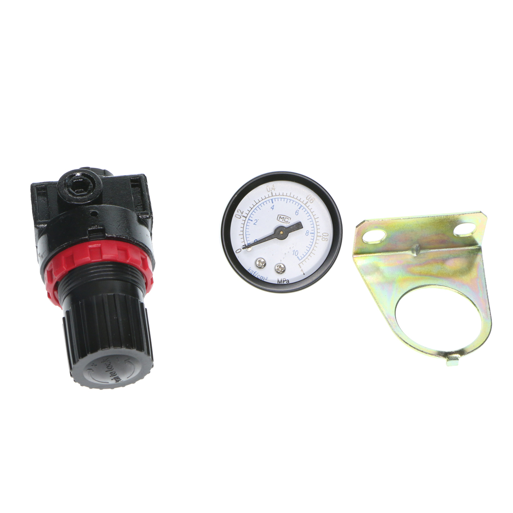 Image 4 - 1 Pieces Air Compressor AR2000 Oil/Water Separator Regulator Trap Filter Regulador del filtro de aire filtre air reglementation-in Inflatable Pump from Automobiles & Motorcycles