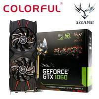 Colorful IGame GTX1060 U 3G Gaming Video Graphics Card 1556 1771MHz 8008MHz I2M5 JA23