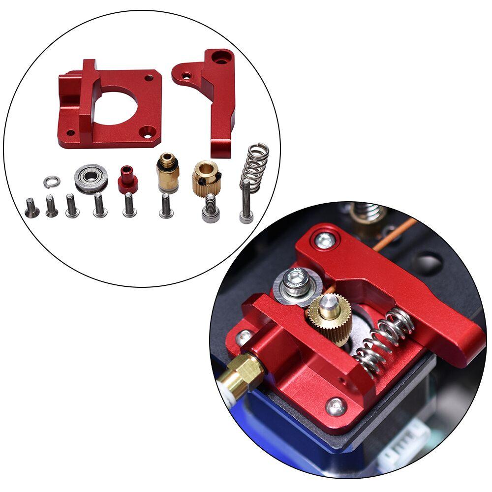 3D piezas de la impresora MK8 extrusora de aleación de aluminio de Bowden extrusora 1,75mm filamento de Reprap de extrusión para CR10 CR-10 CR-10S DIY