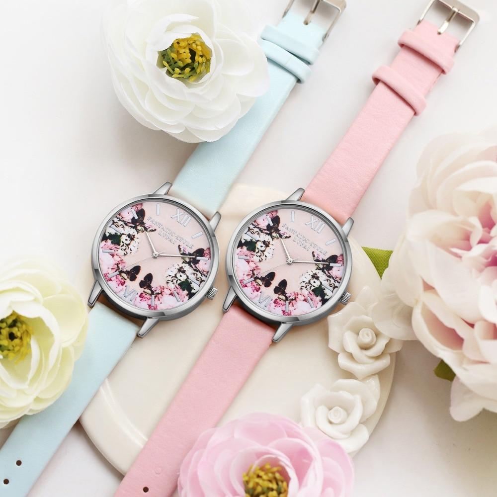 Lvpai luksusa ādas sieviešu kleita pulksteņi rokas pulkstenis - Sieviešu pulksteņi - Foto 4