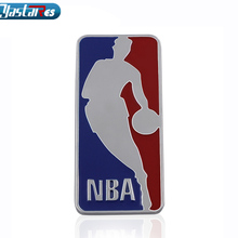 New NBA Metal 3D Jordan Jumpman Car Sticker Decor Metal emblem Car badge Logo Motorcycle Emblem Car Styling Car Accessories cheap Stickers Words 0inch Other 3D Sticker YASTARES Vehicle Logo Trunk Stainless Steel Car Body Comes Packaged