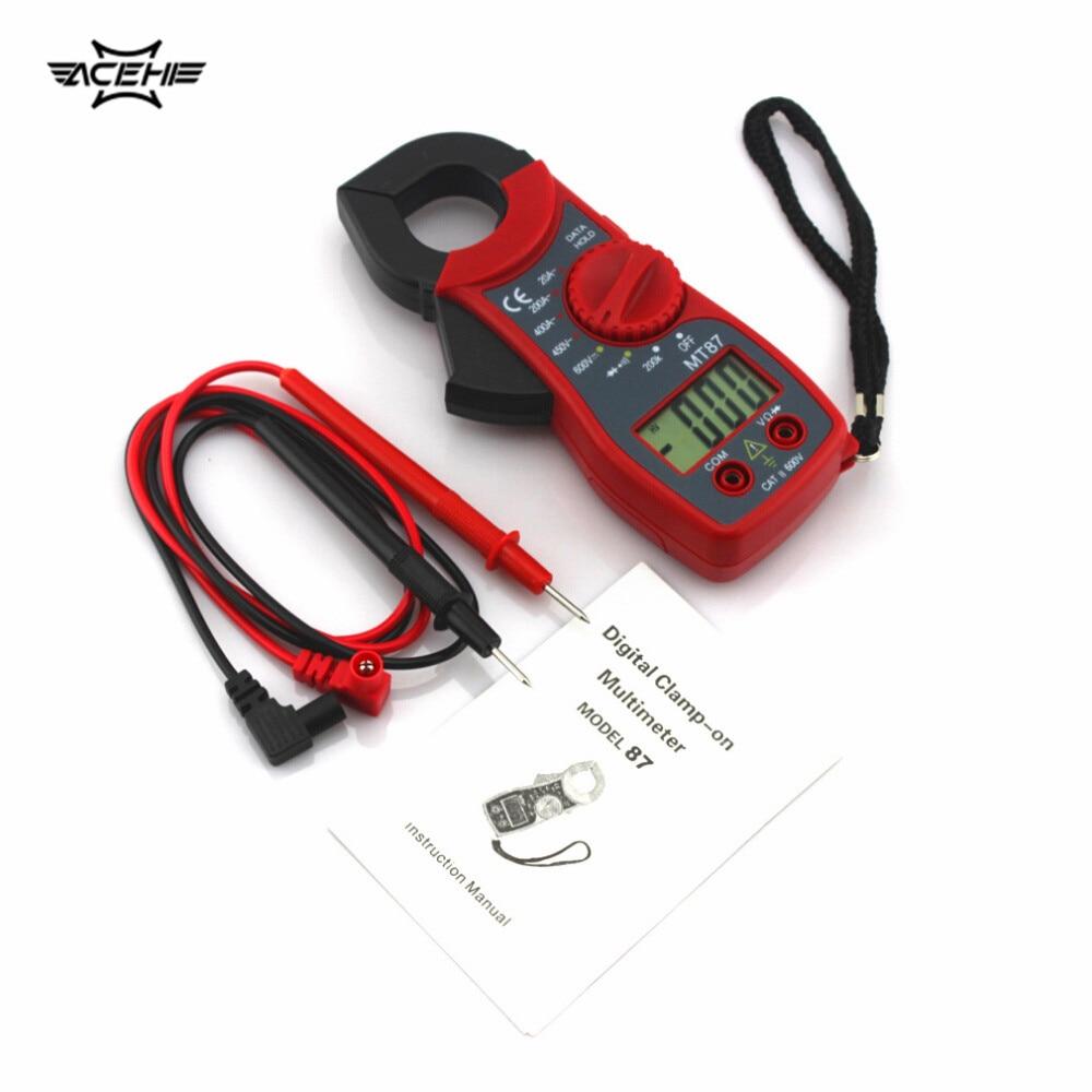 Digital Watt Meter Clamp : Mt ac dc clamp meter alicate digital profissional led
