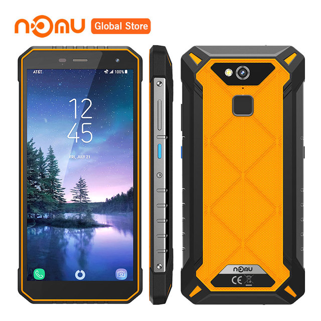 Nomu S50 Pro IP68 Waterproof Shockproof 4GBRAM 64GBROM 18:9HD 5000mAh Octa-core Android 8.1 16MP NFC Type-C OTG 4G Mobile Phone