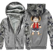 One Piece Monkey D Luffy Print Sweatshirts Hoodie