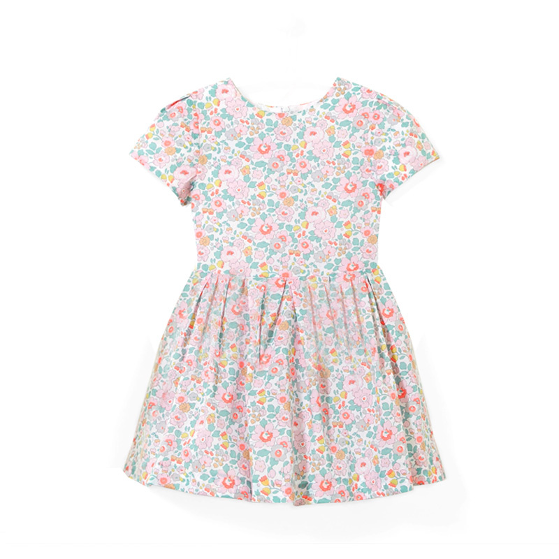 French Girl Pure Cotton Jasmine Flower dress French Girl Pure Cotton Jasmine Flower dress
