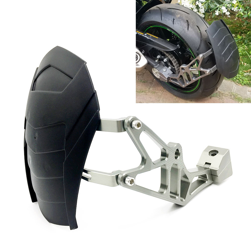 For kawasaki Z1000 2011 2012 2013 2014 2015 2016 2017 Motorcycle Splash Mud Dust Guard Rear Fender CNC Bracket Shield Mudguard tactical rifle scope dr quick detachable 1x 4x adjustable dual role sight airsoft scope magnificate scope for hunting