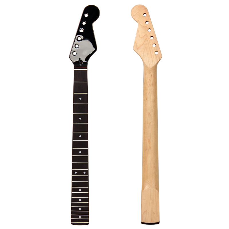 Shoes Hot Sale 22 Frets 25.5inch Electric Guitar Neck Maple+rosewood Fingerboard Moderate Cost
