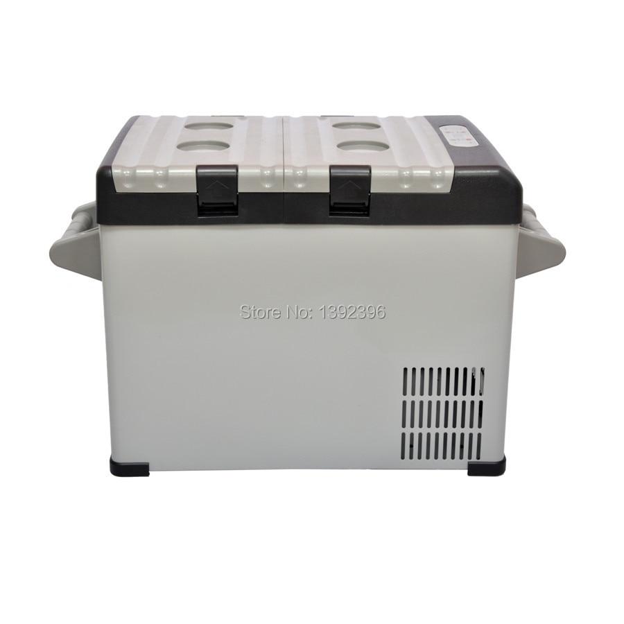 car with compressor mini fridge portable freezer for car 12v cooler box 25l
