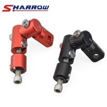 цена на Sharrow 1 Piece Single Sided V-bar Black Red Aluminum Alloy V-bar Quick Disconnect for Compound Recurve Bow