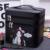 2017 de Doble Capa de Bolsas Impermeables de LA PU de Múltiples Funciones Del Maquillaje Cosmético de Viaje Bolsa de Almacenamiento de Dibujos Animados chica Bolsa De Aseo Para Hombres Mujeres