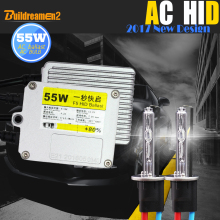 Buildreamen2 880 881 9005 9006 HB4 H1 H3 H7 H8 H9 H11 55 Вт HID Ксенона AC Балласт Лампы Canbus Адаптер 4300 К Света Автомобиля фар