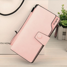 Women Wallet Multifunktionell dragkedja Hasp Purse Long Style Closure Stor Kapacitet Mode Handväska Pengar Bag Mer Card Slots För Ph