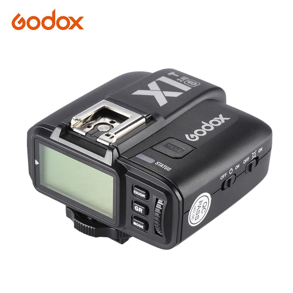 Godox X1T S TTL 1 8000S HSS Remote Flash Trigger Transmiiter 2 4G Wireless X System