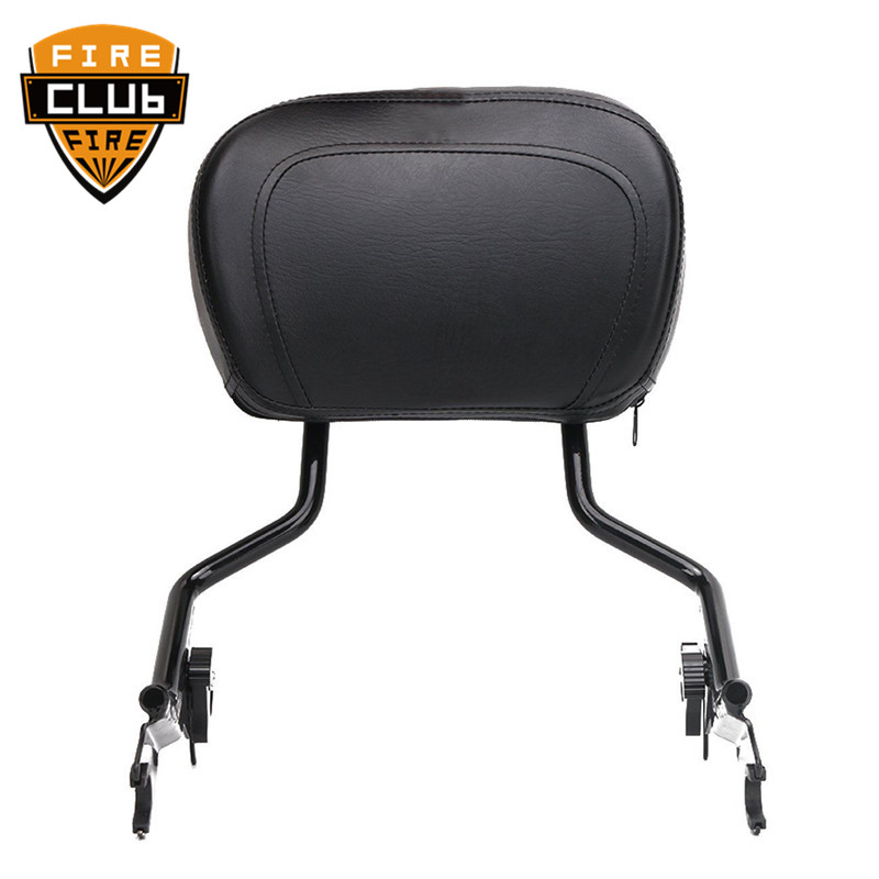 For Harley Touring Road King Electra Street Glide FLHR FLHX FLHT 09-19 Motorcycle Detachable Backrest Sissy Bar Luggage Rack