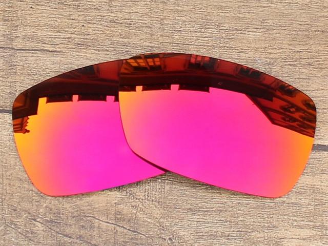 Fire Red Espelho Polarizada óculos de Sol de Lentes de Reposição Para O  Pico Quadro 100 d3e09ef1da