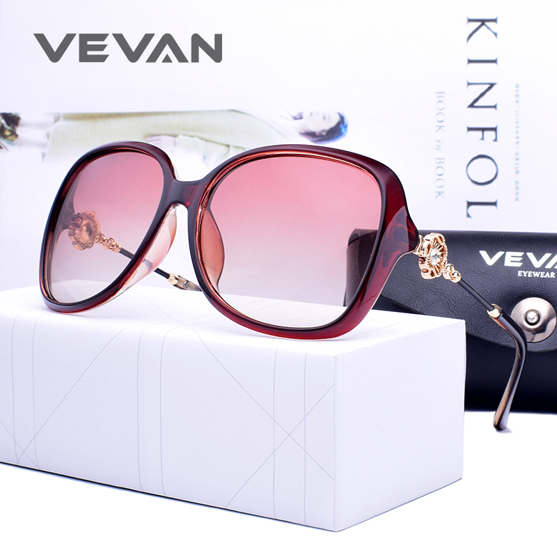 39fa15c19c VEVAN 2018 Fashion Square Polarized Sunglasses Women UV400 Sunglass Luxury Gradient  Lenses Sun Glasses oculos okulary With Box. В избранное. gallery image