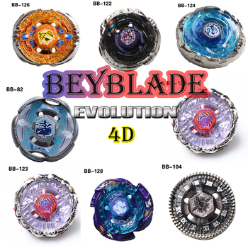 4pcs/set Beyblade Arena Spinning Top Metal Fight